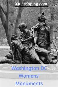 Discover the Washington DC Women's monuments and sculptures #washingtondc #womwnsmonuments