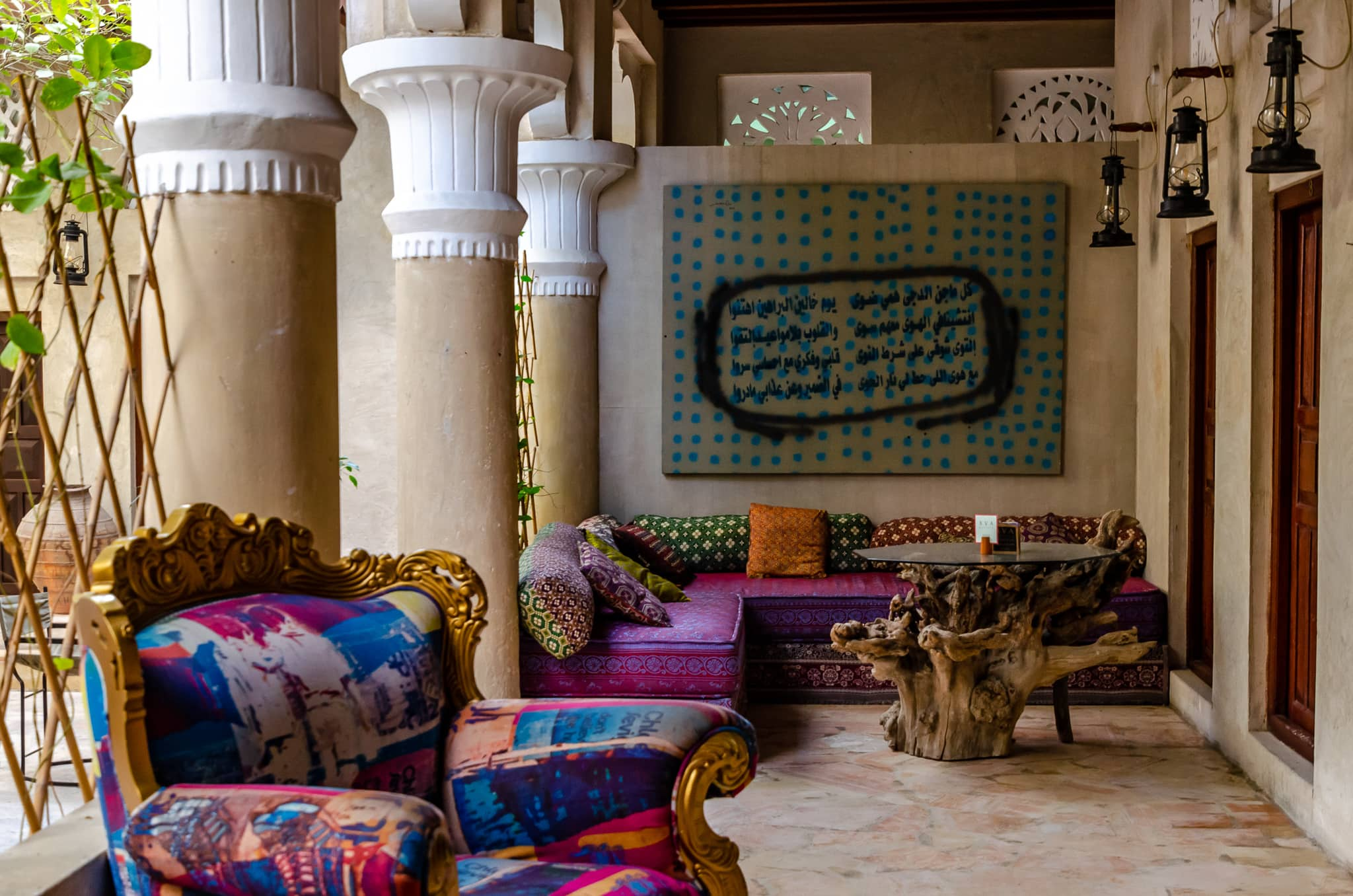 Where to stay in Dubai-try the Boutique XVA Art Hotel