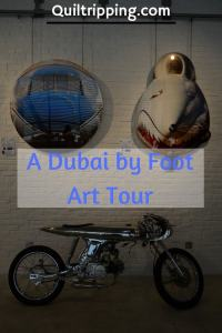 Checking out the Dubai by Foot Art Tour #dubai #dubaiart  #dubaibyfoot
