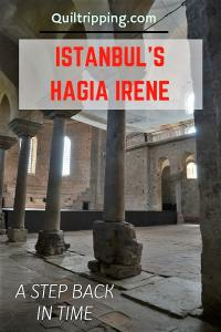 Hagia Irene on the grounds of the Topkapi Palace in Istanbul is a step back in time #hagiairene #istanbul #turkey