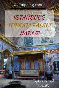 Experience the beautiful Istanbul's Topkapi Palace harem #istanbul #topkapipalace #harem
