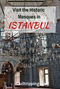 How to visit Istanbul's the many Historic Mosques #istanbul #istanbulmosques #turkey