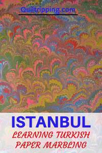 Learning Turkish Paper Marbling in Istanbul is a unique local experience #istanbul #papermarbling #ebru