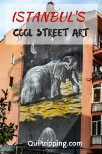 Street art in Istanbul;s Kadikoi neighborhood #istanbul #streetart