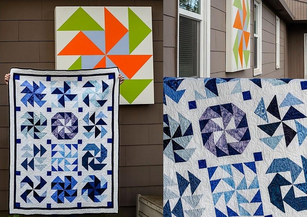 Quilt Design - Dutchman's Puzzle Quilt Variations