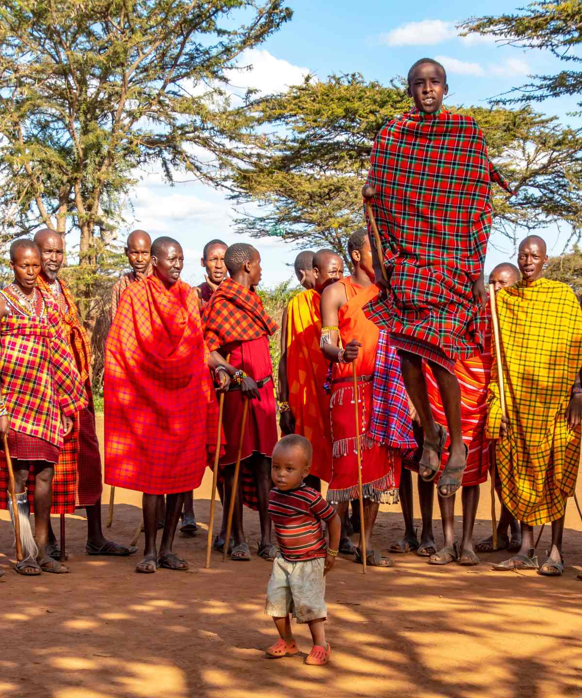 PhotoPOSTcard: A Traditional Maasai Dance