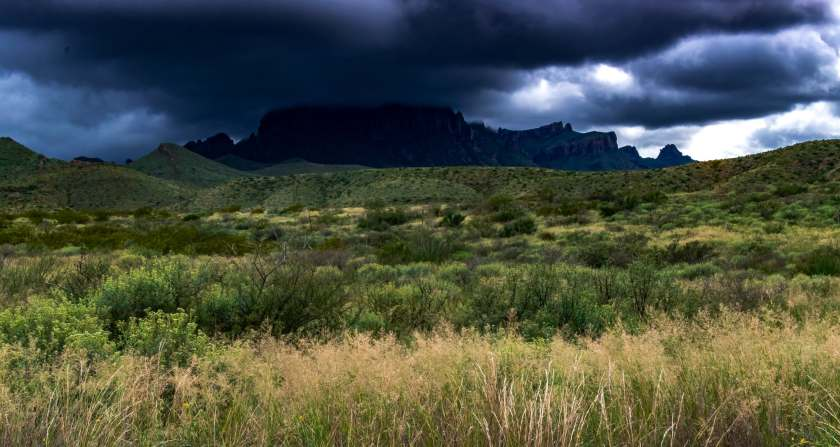 Chisos Mountains in Big Bend NP