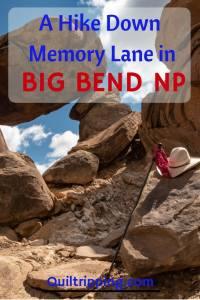 A hike down memory lane in Big Bend NP #bigbend #hike #grapevinehills #balanced rock