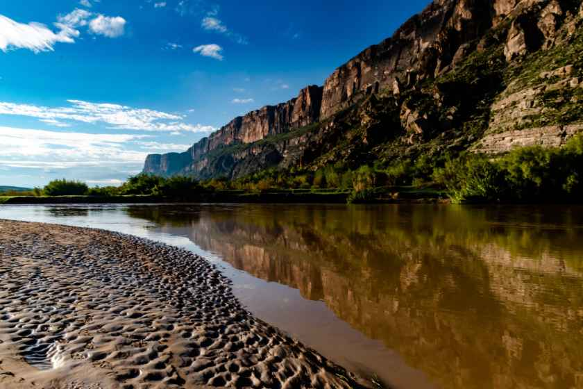 Rio Grande reflection