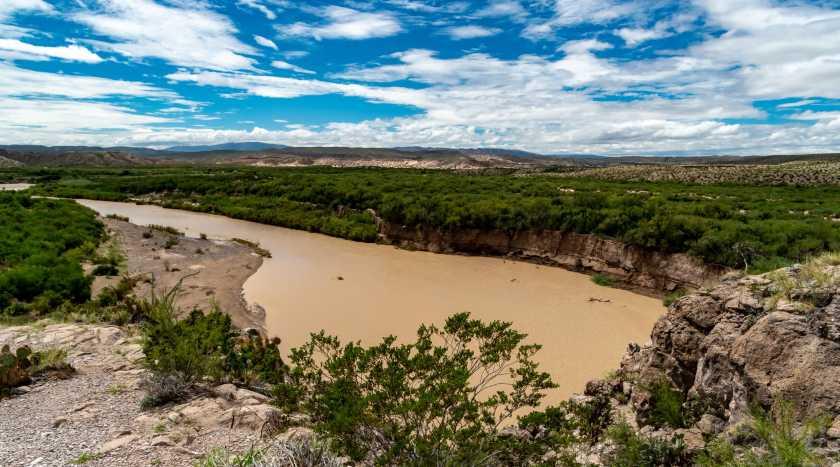 The Rio Grande at Boquillas Canyon Overlook