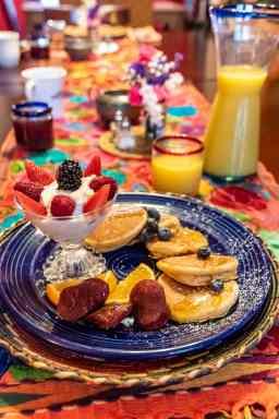 A delicious breakfast