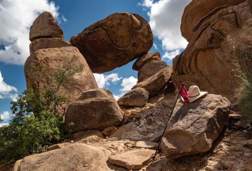 Balanced Rock at Big Bend