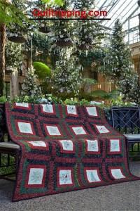 My Merry Christmas Quilt #christmas quilt #quilt #redandgreenquilt