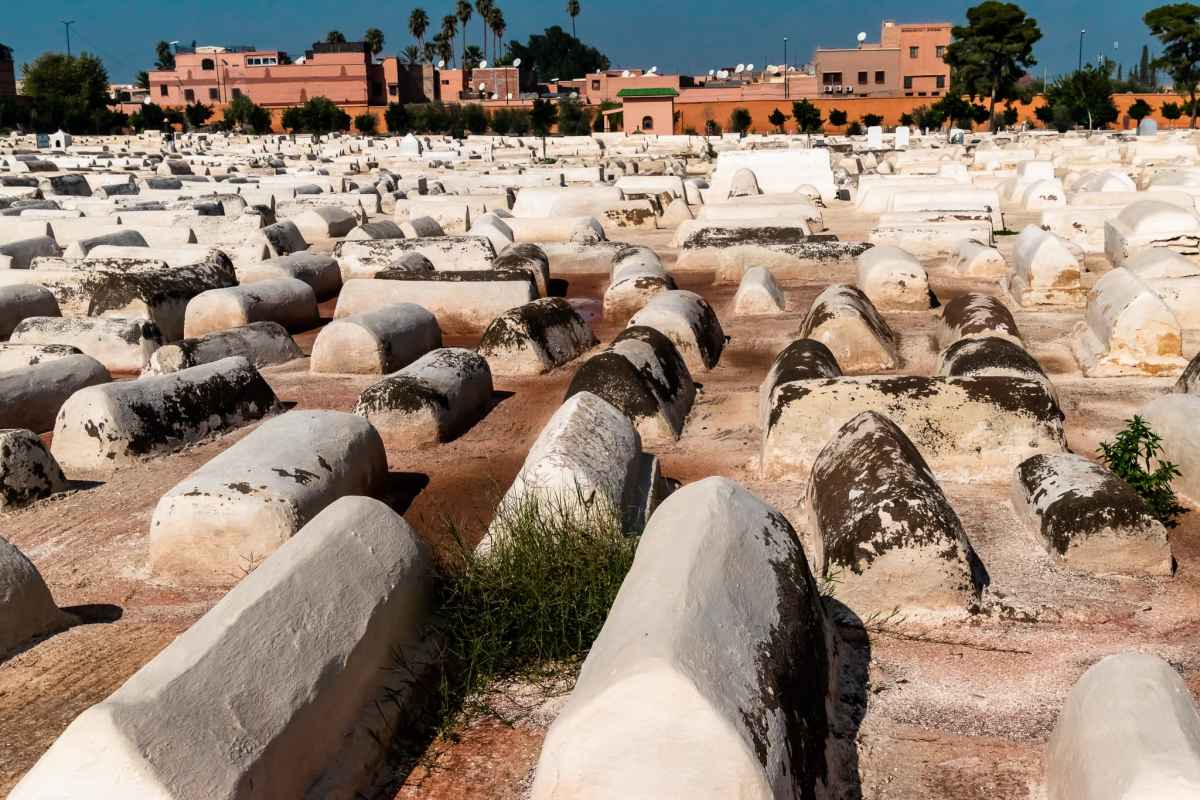 PhotoPOSTcard: The Jewish Cemetery in Marrakesh