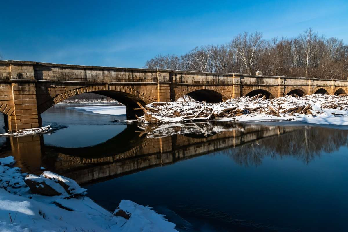PhotoPOSTcard: The Monocacy Aquaduct