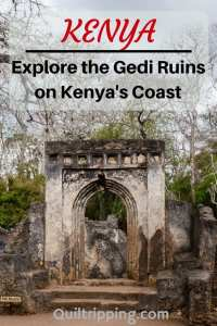 Explore the mysterious Gedi Ruins on Kenya's coast #gedi #kenya