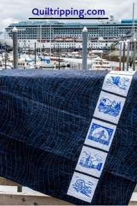 Alaska inspired quilt #quilt #alaskaquilt