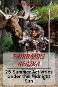 Discover these 25 activities in the summer under the midnight sun in Fairbanks #fairbanks #fairbanksactivities #alaska