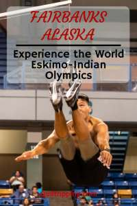 Make sure to see the unique World Eskimo-Indian Olympics in FAirbanks, Alaska #weio #worldeskimoindianolympics #fairbanks #alaska