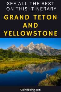 Discover all the best sights with this itinerary for Grand Teton and Yellowstone National Parks