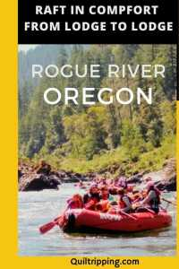 Sharing my wonderful lodge to lodge rafting trip experience on the Rogue River in Ore