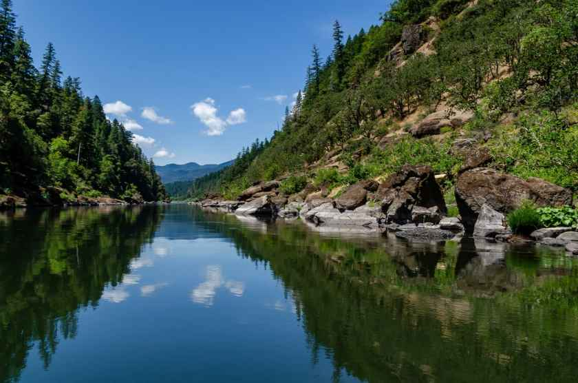 The wild and scenic Rogue River