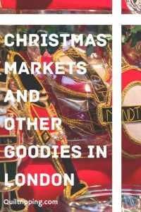 Discover London's Christmas markets and other festive activities in London