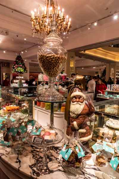 Shopping at Fortnum and Mason