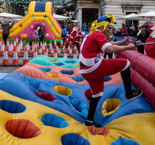 The Great Pudding Race at Covent Garden