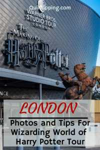 Experience the magic of a visit to the Wizarding World of Harry Potter at the Warner Brothers Studios in London #london #warnerbrothersstudiolondon #harrypotter