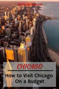 The best way to travel to Chicago on a budget #chicago #visitchicago #chicagoonabudget