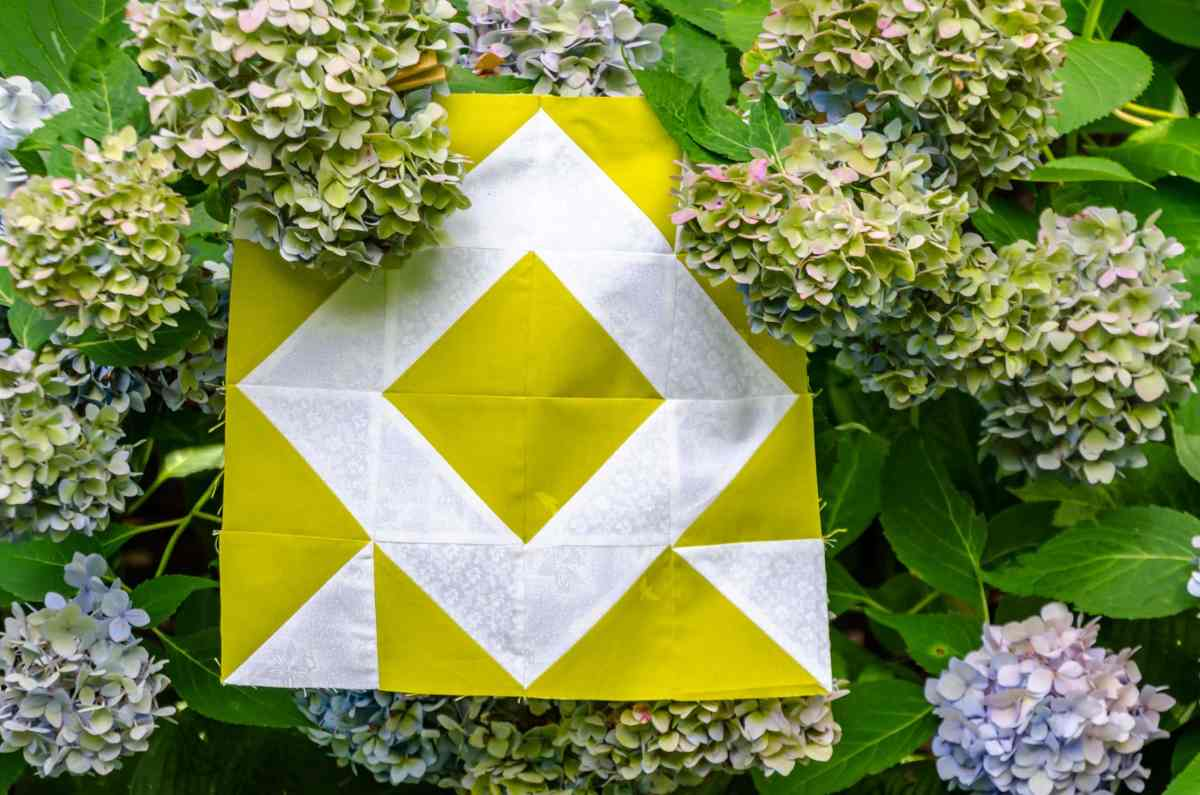 Triangle Fourplay – An Easy Quilt Block of the Month – Block 3