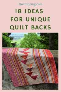 Use these ideas to make quilt backs that are as interesting as the front