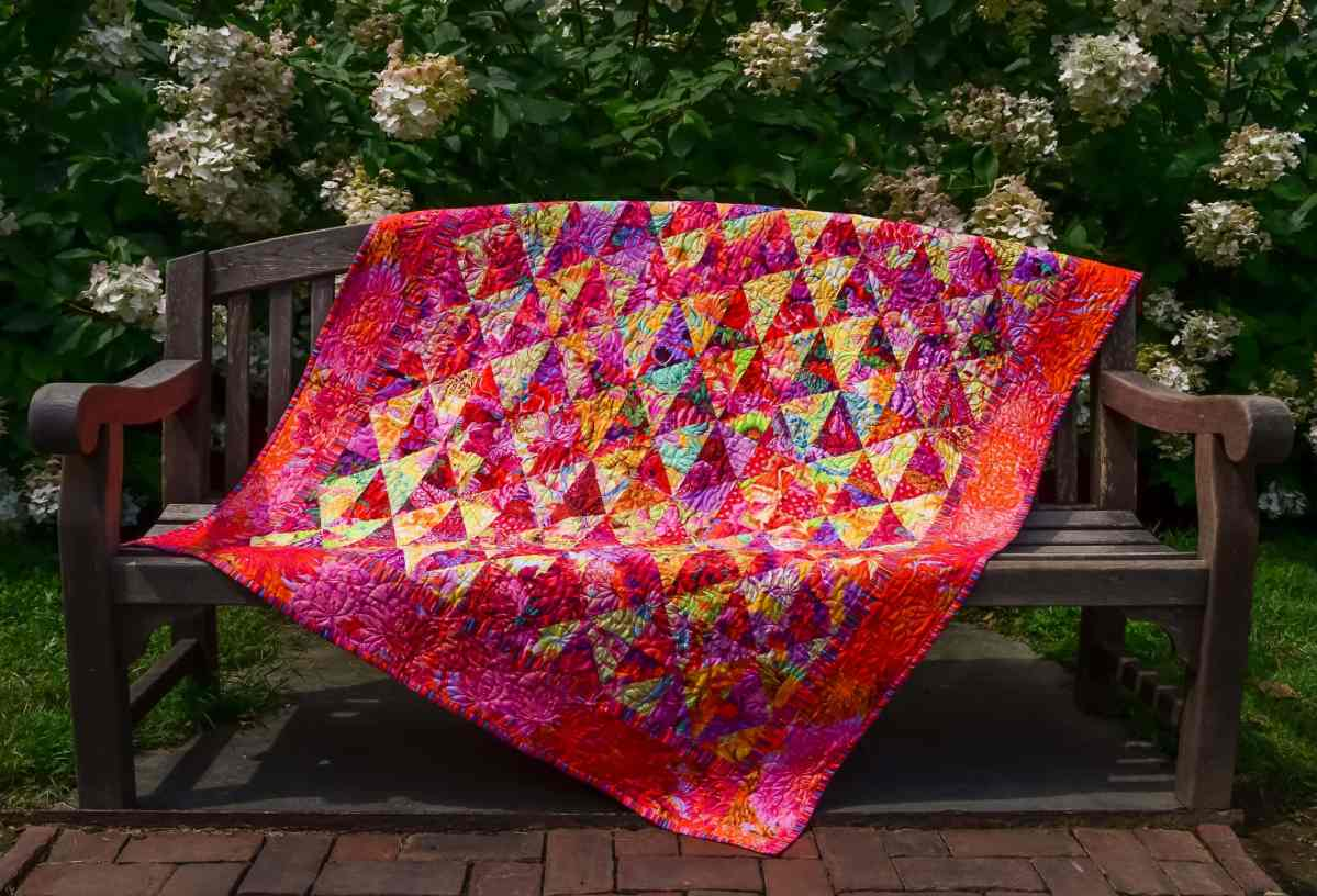 """Brandywine Flower Walk"" – Original Quilt Design"
