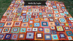 Handmade Orange Quilt