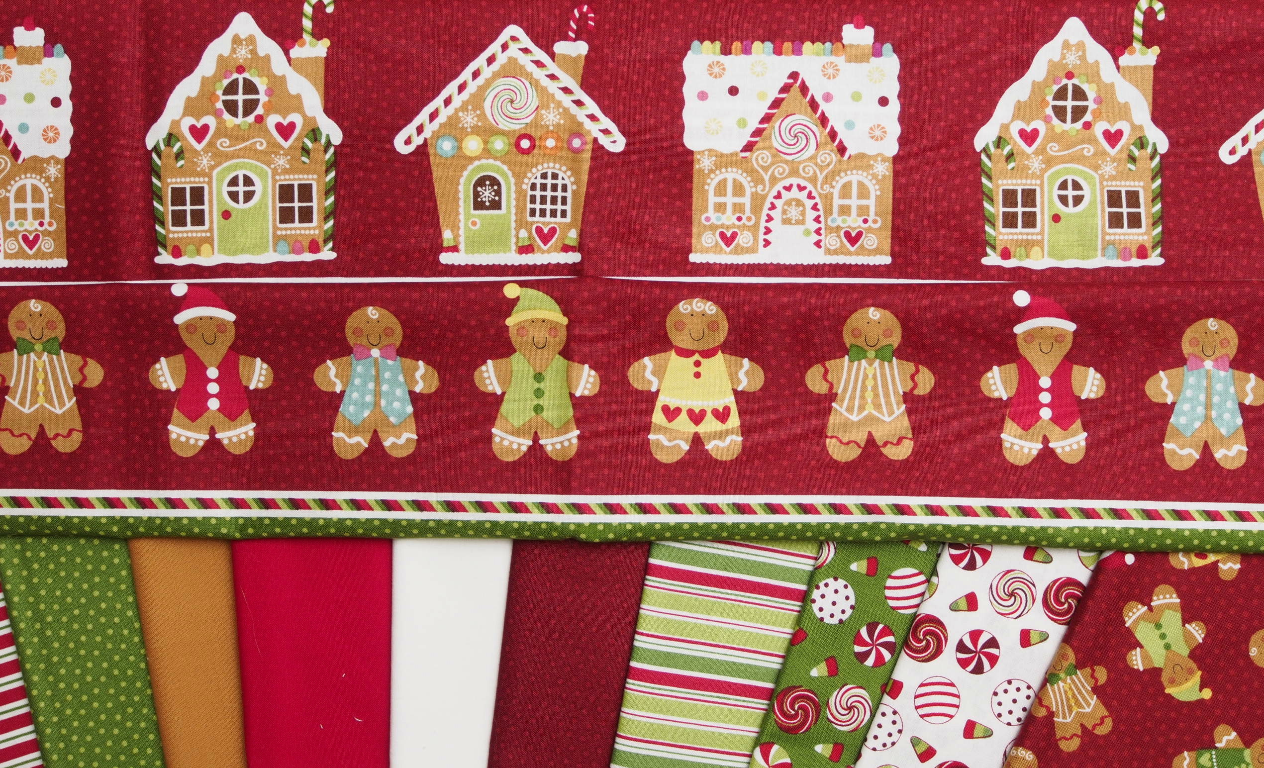 Gingerbread Quilt Pattern