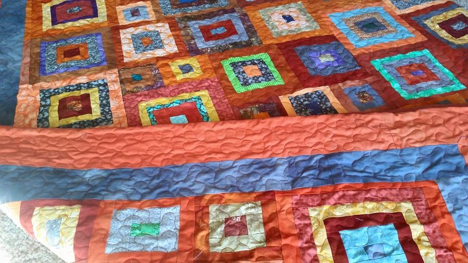 gray orange quilt lap and quilts sized tanya dsc richard