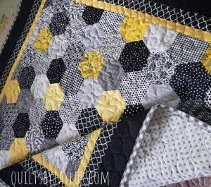 modern quilt for