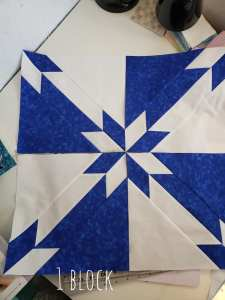 Hunters Star Quilt Block