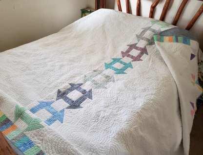 handmade quilt, king quilt