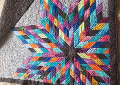 abstract Star Quilt