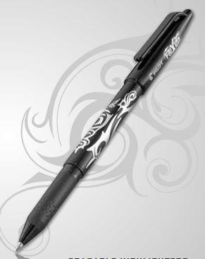 Frixion Heat erasable pen