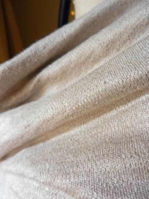 Maria Denmark 103-Linen Knit Drapey Collar