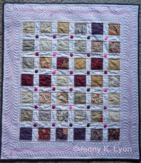"""Inspired by """"Vintage Baby Quilt"""" by Yoyo Mama"""