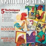 Binding and Writing and Article in Quilting Arts Magazine!