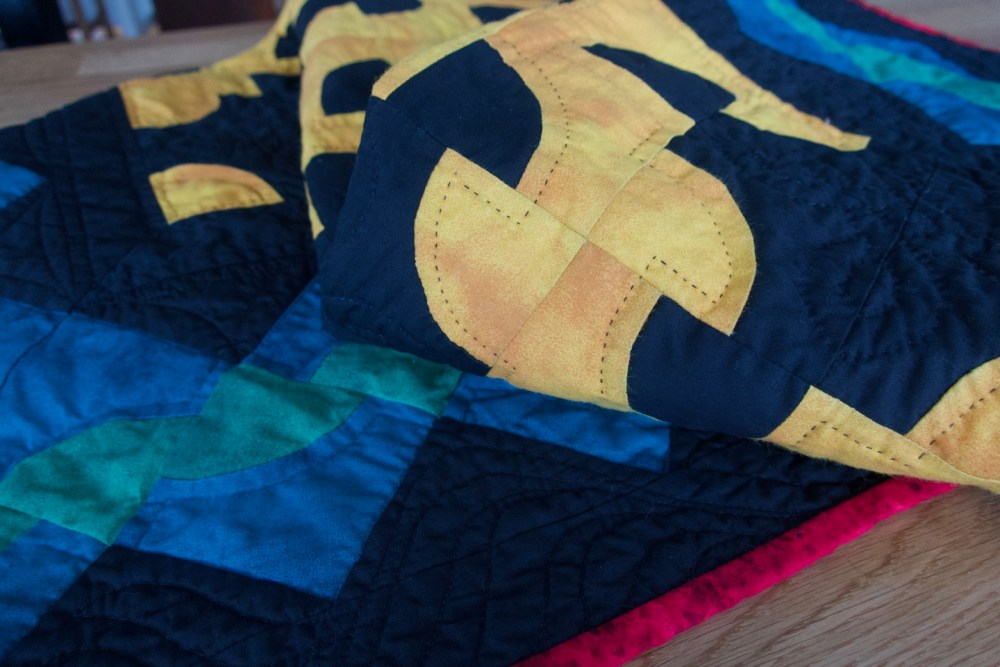 Sun and Shadow, Earth and Sky | QuiltSmith