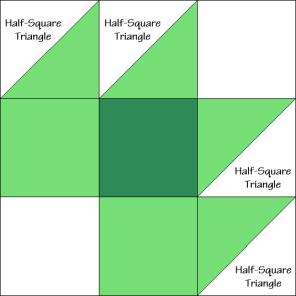 Vermont Maple Leaf Quilt Block