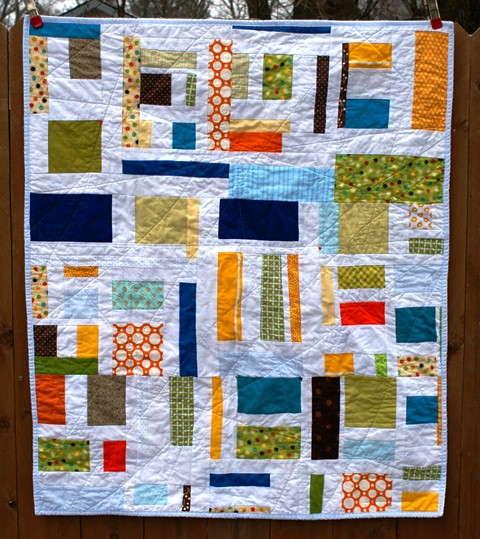 boy theme mod mosaic quilt