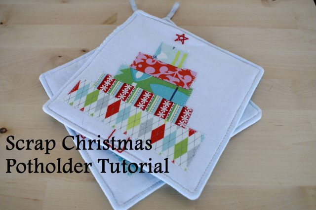 Scrap Christmas Potholder Tutorial