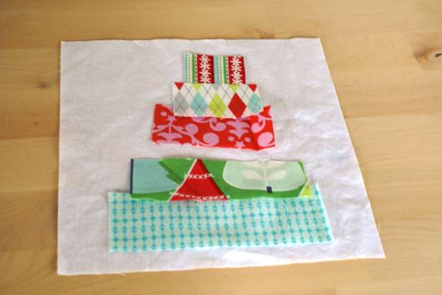 scrap christmas potholders